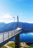 Bridge in Norway — Stock Photo