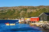 Cabanes en Norvège — Photo