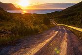 Sunset scene — Stock Photo