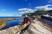 Senja island — Stock Photo