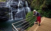 Waterfall on Sri Lanka — Stock Photo
