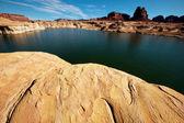 Powell lake — Stock fotografie