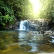 Stock Photo: Waterfall on Sri Lanka