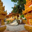 Stock Photo: Temple in Laos