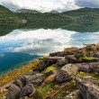 Lake in Norway — Stock Photo