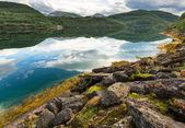 Lake in Norway — Stock Photo