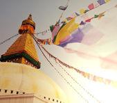 Stupa in Nepal — Stock Photo