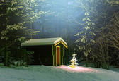 Christmas tree — ストック写真