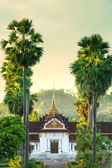 Chrám v laosu — Stock fotografie