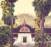 Tempio in laos — Foto Stock