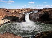 Wasserfall in island — Stockfoto
