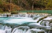 Wodospad w meksyku — Zdjęcie stockowe