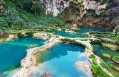 Cascada en méxico — Foto de Stock