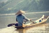 Boat in Laos — Stockfoto
