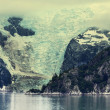 Foto Stock: Glacier on Alaska