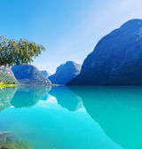 Lake in Norway — Stock fotografie