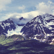 Mountains on Alaska — Stockfoto #40485535