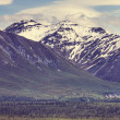 Mountains on Alaska — Stock Photo