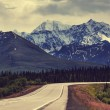 Mountains on Alaska — Stockfoto #40535937