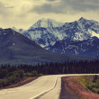 Mountains on Alaska — Stok Fotoğraf #40535937