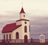 Church in Iceland — Stock Photo