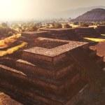Pyramid of the Sun. Teotihuacan — Stock Photo #41045831