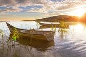 Fishing boats in Mexico — Stock Photo