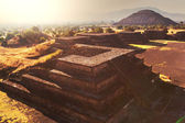 Pyramid of the Sun. Teotihuacan — Stock Photo