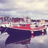 Faroe pier — Stock Photo