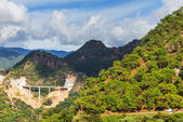 Cesta v horách — Stock fotografie