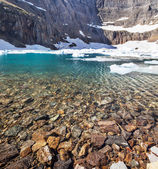 Iceberg lake — Stock Photo