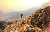 Hike in Bolivia — Stock Photo