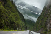Road on Alaska — Stock Photo