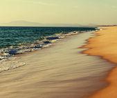 Playa de arena — Foto de Stock