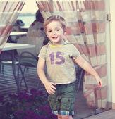 Small boy — Stock Photo