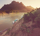 River in Laos — Stock Photo