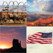 American collage — Stock Photo #48558193