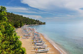 Amed beach — Stock Photo