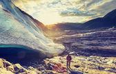 Escursione in norvegia — Foto Stock