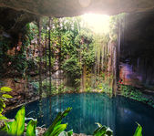 Ik-Kil Cenote,  Mexico — Stock Photo
