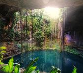 Ik-Kil Cenote,  Mexico — Stock Photo