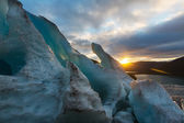 Glacier in Norway — Stock Photo