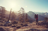 Hike in Yosemite — Stock Photo