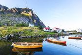 Boat in Norway — Stock Photo