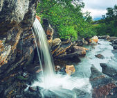 Waterfall in Norway — Zdjęcie stockowe