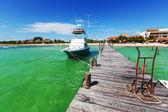 Båt i mexiko — Stockfoto