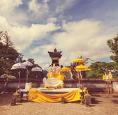 Temple on Bali — Stock Photo