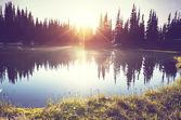 湖景观 — 图库照片