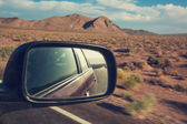 Road in prairie — Stock Photo