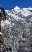 Adishi Glacier — Stock Photo